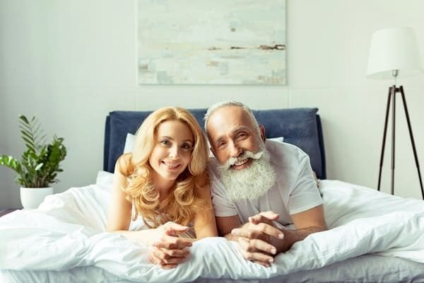Why are young women looking for older men?