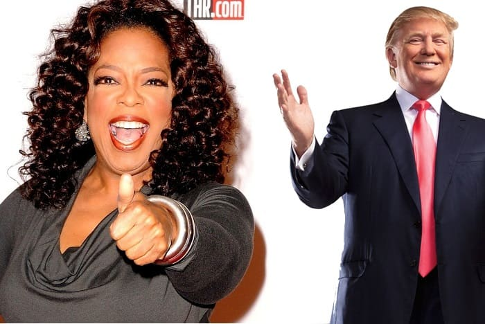 Oprah and Trump