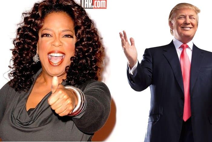 Oprah and Trump