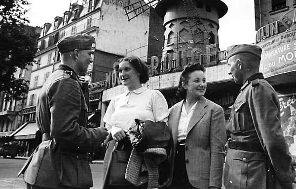 How French women had effairs with Hitler soldiers during WWII
