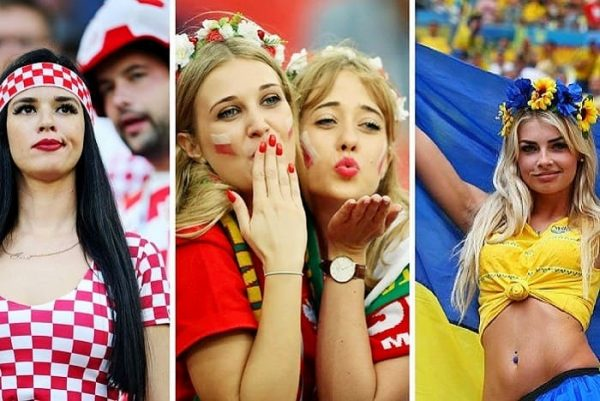 The most beautiful and sexy female fans at FIFA World Cup 2018!