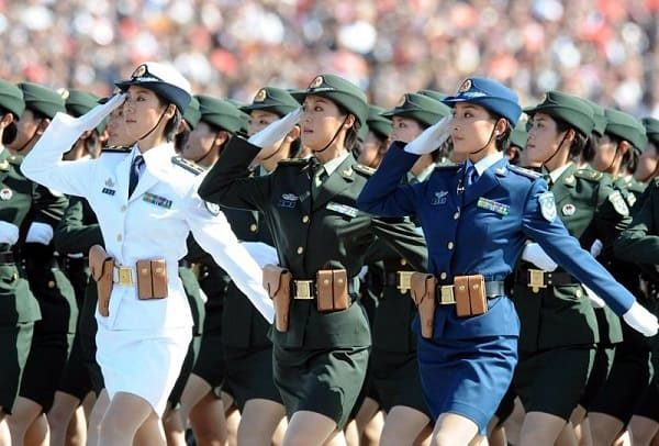 TOP-9 countries with the most beautiful women soldiers