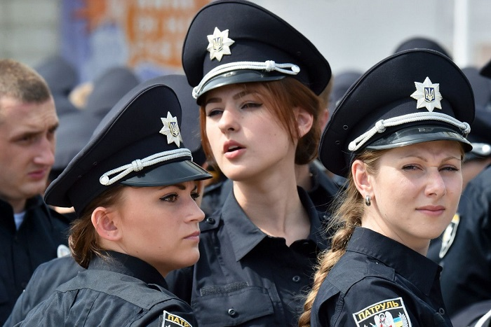 TOP-10 countries with the hottest police women