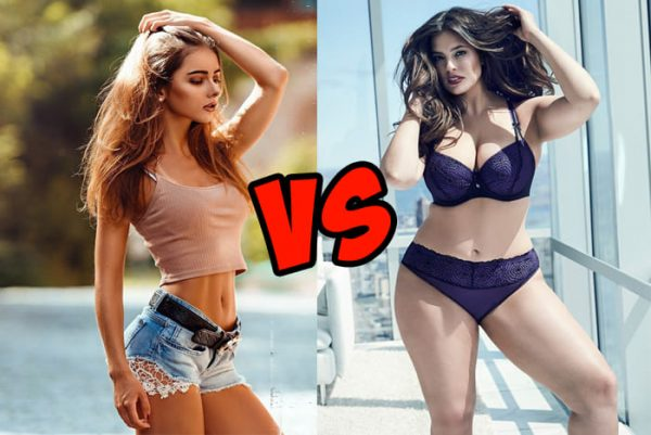 Slim models vs Plus-size models: which of them are more sexy?