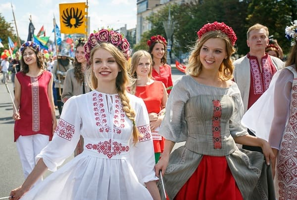 Where do the most beautiful Slavic women live?